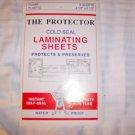 """Laminating Sheets 4 1/2""""x6 1/2""""  6 Sheets  BNK2072"""