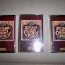 Cassettes Set Of Three  30 Years Of No.1 Country Hits BNK2094