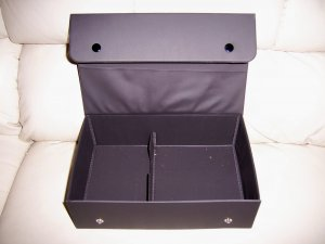 Carry Case Black Snap Closure 10x6x3  BNK2096
