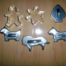 Cookie Cutters Set Of Six   BNK2158
