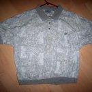 Men's Light Gray Polo Shirt Size 18  BNK2186