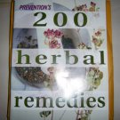 200 Herbal Remedies By Prevention BNK2199