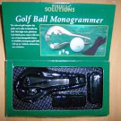 Golf Ball Monogrammer By Perfect Solutions BNK2211