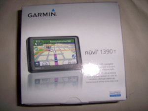 GPS By Garmin #1390 For Maps And Traffic  BNK2229