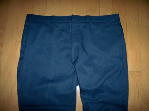 Men's Slacks Blue Size 42-31  By Levi Action SlacksBNK2240