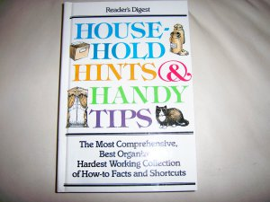 House-Hold Hints & Handy Tips Hardcover Book BNK2260