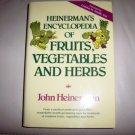 Encylopedia Of Fruit-Vegetables And Herbs BNK2273