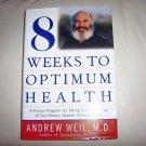 8 Weeks To Optimum Health Hardcoverr  Jacket Book BNK2274