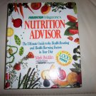 Nutrition Advisor  Hardcover Book By Prevention BNK2278