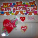 Valentine  Six Decoration Stickers  BNK2329