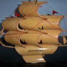 "Wood Bahamas Ship 10""x12""x3""   BNK2267"