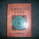 """Summer's Path"" Hardcover Jacket Book BNK2374"