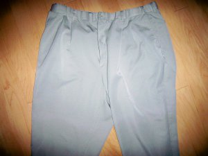 Men's Pants Light Tan 42x31 By Haband  BNK2413