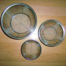 Set OF Three Stainless Steel Strainers  BNK2445