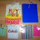 Set Of Six Gift Bags/Tags   BNK2483