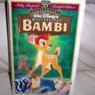 "Home Video Cassette   ""Bambi"" By Walt Disney   BNK2585"