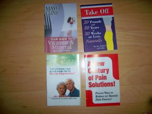 Set Of Four Health Brochures   BNK2594