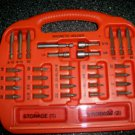 30 Size Marked Drill Bits In Magnetic Carry Case  BNK2600