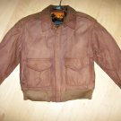 Ladies XS Leather Bomber Jacket  BNK2690