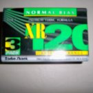 3 Pack Cassettes To Record XR120   BNK2710