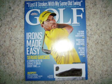 Golf Magazine January 2013  BNK2788