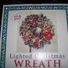 "Christmas Wreath   14"" Battery Lighted   BNK2822"