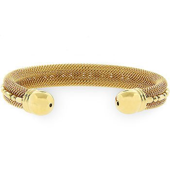 Modern Mesh Cuff Bracelet