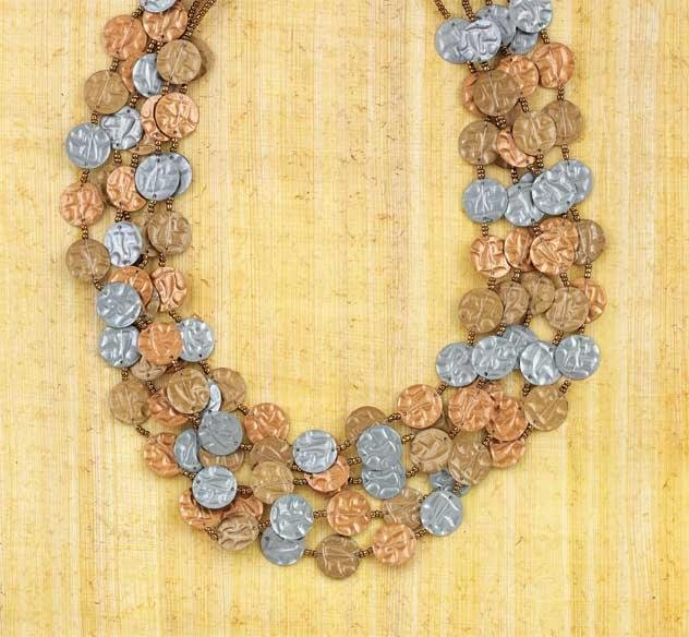 Copper Arabian Nights Necklace