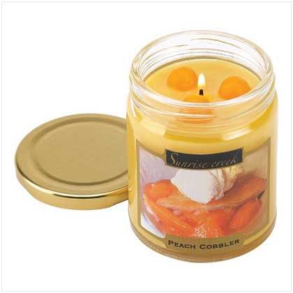 Peach Cobbler Scent Candle