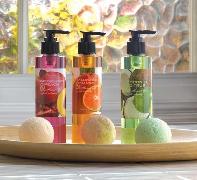 Tropical Fruits Shower Gel Set