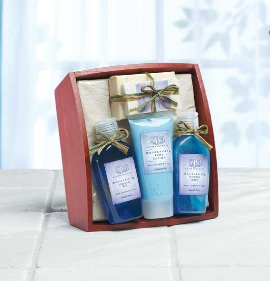Lavender & Sage Bath Tray