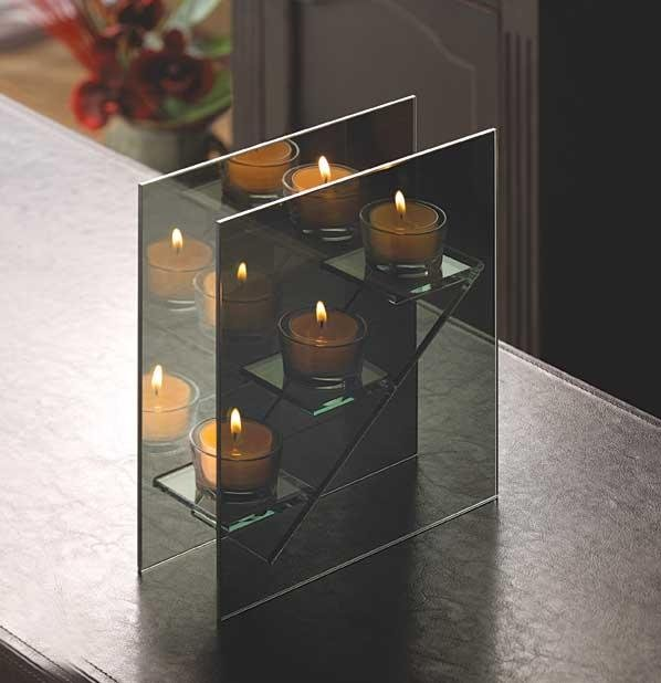 Stairstep Candleholder