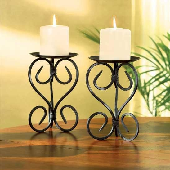 Spanish Mission Candleholders
