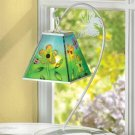 Floral Hanging Votive Lantern