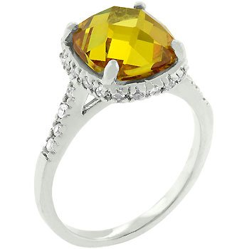Canary Princess Ring