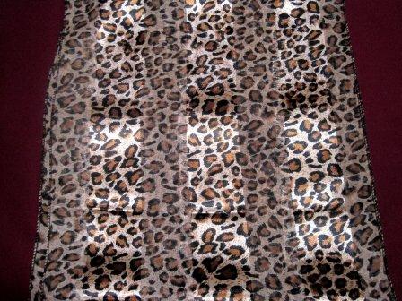 Leopard Animal Print Ladies Scarf