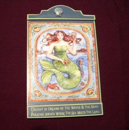 Mermaid Magic Plaque Sign
