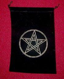 Pentagram Tarot Pouch
