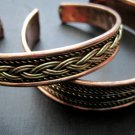 Celtic Copper Cuff Bracelet
