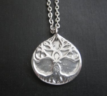 Goddess Tree Amulet Pendant Necklace