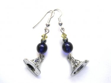Wizard Hat Dangle Earrings