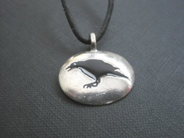 Raven Totem Spirit Guide Necklace