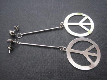 Peace Dangle Earrings