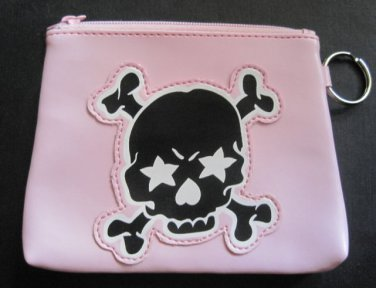 Pink Skull Coin Purse