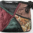 Gothic Victorian Velvet Patch Handbag