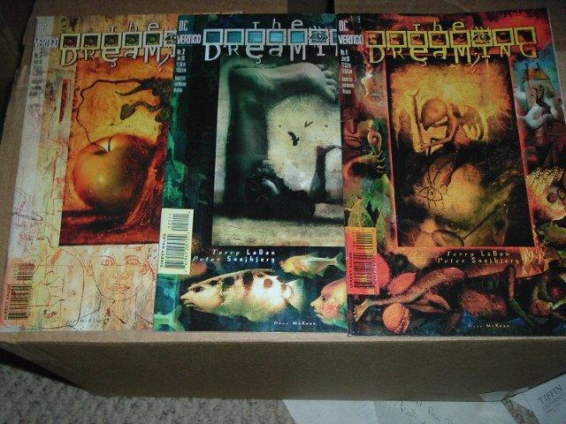 The Dreaming #1, 2, 3 FULL SET of 'The Goldie Factor' Storyline (DC Vertigo Comics)