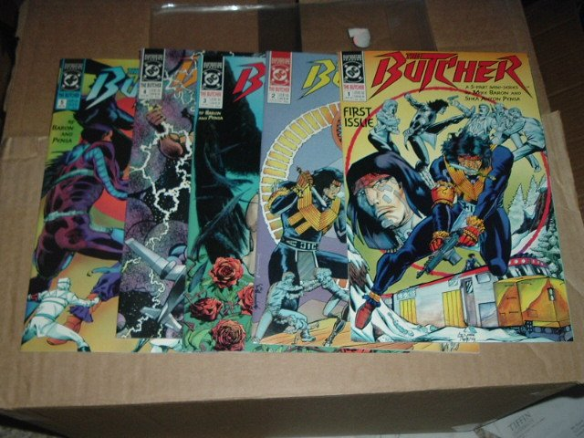 The Butcher #1-5 COMPLETE SET (DC Comics 5-Issue Mini-series), SAVE $$$ with COMBINED SHIPPING