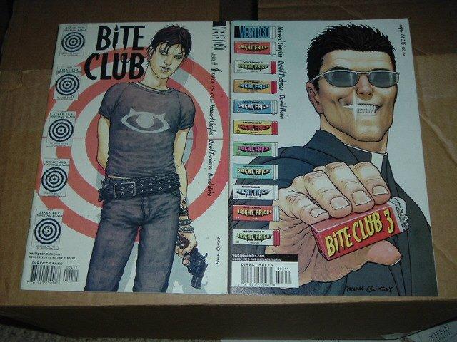 Bite Club #3 and #4 Frank Quitely great covers (DC/Vertigo Comics) SAVE $$ by combining