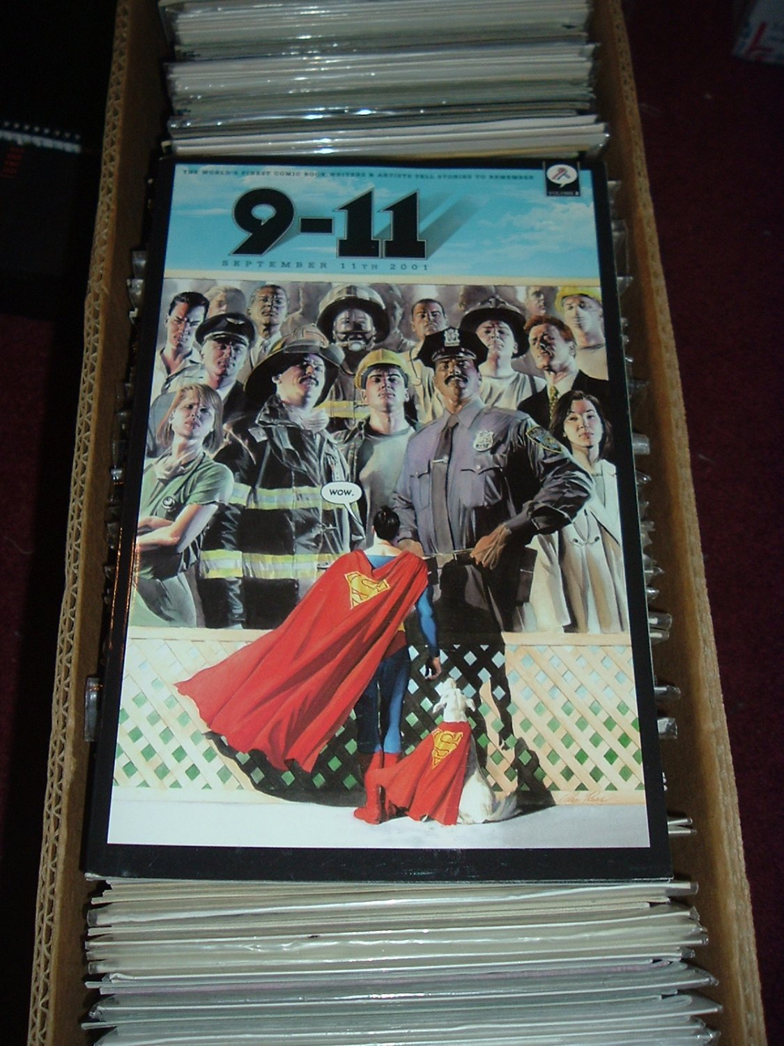 9-11 Volume 2: September 11th 2001 (DC Comics edition), SAVE $$$ with COMBINED SHIPPING