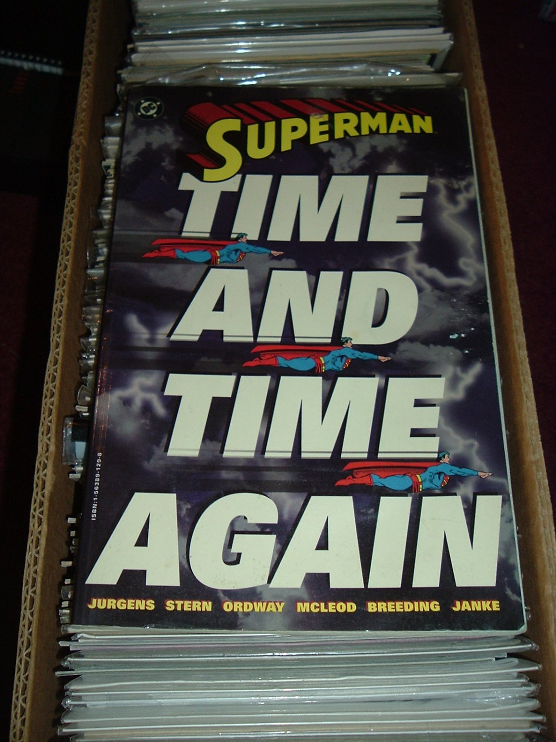 Superman: Time and Time Again TPB (DC Comics Trade Paperback1994) First Print